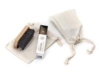 Schuhpflege-Set Mini im Baumwoll-Beutel