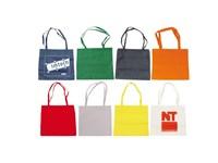 Non woven Tasche mit langen Henkeln farbig