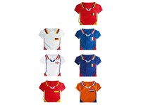 Rucksack T-Shirt aus Nylon, verschiedene Länder