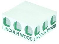 Papierblock 100 x 100 x 50 mm inkl. Druck 1-farbig
