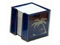 Zettelbox 100 x 100 x 100 mm, doppelwandig