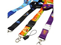 Lanyard with full colour heat transferred print 1,