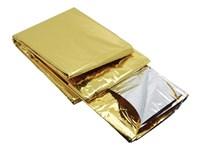 Rettungsdecke 2 Seiten (Silber/Gold)