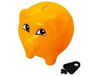 "Spardose ""Piggy"", orange"