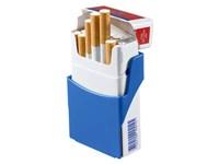 "Zigarettenhalter ""Zig-Clip"", blau"