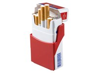 """Zigarettenhalter """"Zig-Clip"""", rot"""