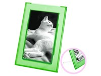 "Bilderrahmen ""Lux"", transparent-grün"