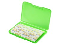 "Notfall-Set ""Pflaster Box"", neon-grün"
