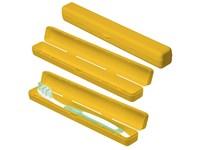 """Schutzbox """"Zahnbürste"""", gelb"""