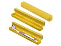 """Schutzbox """"Zahnbürste"""", trend-gelb"""