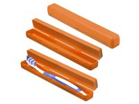 """Schutzbox """"Zahnbürste"""", trend-orange"""