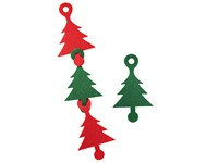 """Weihnachtsdeko """"Kombi"""", rot/grün"""