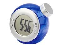 """Tischuhr """"Waterball"""", blau, bedruckt"""