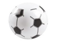 """Wasserball """"Fußball"""", klein, weiß/schwarz, 6P PVC"""