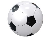 """Wasserball """"Fußball"""", groß, weiß/schwarz"""