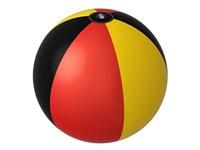 """Wasserball """"Deutschland"""", groß, schwarz/rot/gelb"""