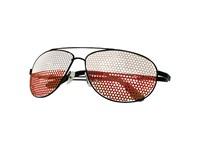 """Sonnenbrille """"Nations"""", Polen, weiß/rot"""