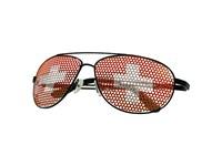 """Sonnenbrille """"Nations - Schweiz"""", rot/weiß"""