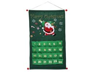 "Adventskalender ""Merry Christmas"", grün"