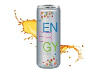 Energy Drink, 250 ml, No Label Look (Alu Look)