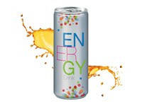 Energy Drink, 250 ml, Fullbody transp.