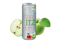 Apfelspritzer, 250 ml, No Label Look (Alu Look)