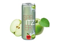 Apfelspritzer, 250 ml, Fullbody transp.
