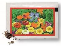 Samentütchen 80x55 mm, bunte Blumenmischung, Stand