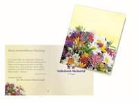 Klappkärtchen Bunte Blumenwelt, Blumenmischung-ame