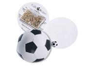 Klappkärtchen Fußball, Sportrasen, 1-4 c Digitaldr