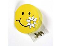 Klappkärtchen Smiley, Zwergsonnenblume, 1-4 c Digi