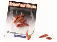 Chili Kärtchen 70 x 90 mm, 1-4 c Digitaldruck inkl