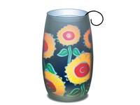 Sonnenlicht Sonnenblumen-Motiv, Glas in Einzelkart