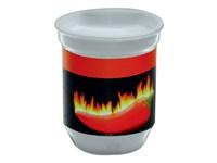 XL Wachstum Feuer, Chili, 1-4 c Digitaldruck inklu