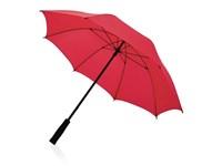 """23"""" Sturm Regenschirm aus Fiberglas, rot"""
