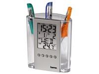 LCD-Thermometer und Stifthalter