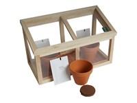 Mini Treibhaus mit Samen oder Kräuter