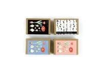 Naturlook boxen mit Blumenzwiebeln und glossy Farb
