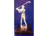 Golf Statue Männer 23 Cm