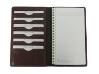 Kalender Brieftasche Pflanzich gegerbtes Rindleder