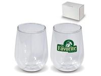 Doppelwandiges Gläser Set klein