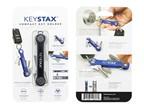 KeySmart KeyStax Compact Keyholder Black Clam