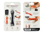 KeySmart Compact Keyholder Black Clam