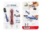 KeySmart KeyStax Compact Keyholder Red Clam