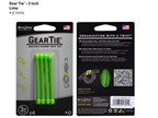 Nite Ize Gear Tie 3 4 pack Lime