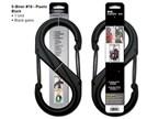 Nite Ize S-Biner Plastic 10 Black Finish