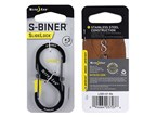 Nite Ize S-Biner 3 Slidelock Stainless Black