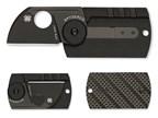Spyderco Dogtag Folder Carbon Fiber Black PE