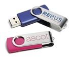 Twister USB FlashDrive Blauw