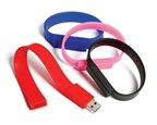 Wristband USB FlashDrive Zwart